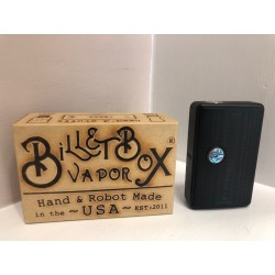 Billet box - Rat Black tasto abalone