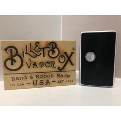 Billet box - Piebald silver tasto madreperla