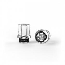 Drip Tip per 4.32 PMMA lucidato antischizzo