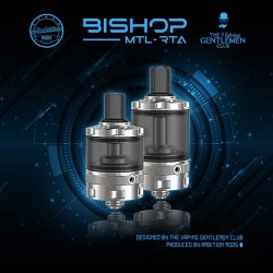 Bishop 4ml MTL RTA - The Vaping Gentlemen Club